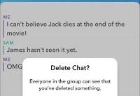 قابلیت حذف پیامهای ارسال شده به اسنپ چت اضافه می شود