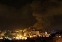 جنگندههای رژیم صهیونیستی مواضع حماس در نوار غزه را هدف قرار دادند