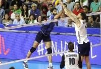 لیگ ملتهای والیبال؛ شکست سه بر صفر ایران مقابل آمریکا
