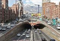 تصادف مرگبار در تونل توحید تهران