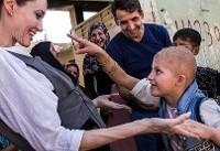 آنجلینا جولی خطاب به جامعه جهانی: موصل را فراموش نکنید