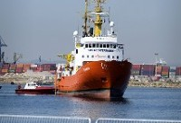 Rescue ship Aquarius docks in Valencia after weeklong odyssey at sea