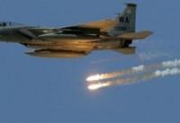حمله جنگندههای متجاوز آمریکایی به پایگاه ارتش سوریه