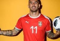 بهترین بازیکن بازی صربستان و کاستاریکا