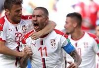 کولاروف بهترین بازیکن دیدار صربستان و کاستاریکا شد
