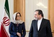 دیدار معاون امور وزیر خارجه سوئیس با عراقچی
