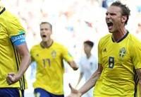 برد سوئد با کمک ویدئو چک!