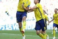 تا دقیقه ۸۱/ سوئد یک- کره جنوبی صفر