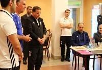 تصاویری از حضور وزیر ورزش و جوانان در اردوی تیم ملی فوتبال
