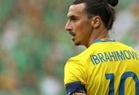زلاتان: طبیعی نیست که بنزما در جام جهانی غایب باشد