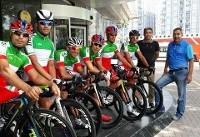 پیراهنهای امتیازی و کوهستان تور دوچرخهسواری ترکیه برتن ملیپوشان ایران
