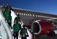 نقص فنی منجر به فرود اضطراری هواپیمای حامل تیم ملی فوتبال عربستان شد