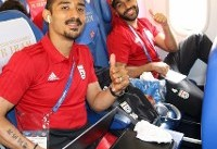 ملیپوشان فوتبال برای دیدار با پرتغال عازم سارانسک شدند