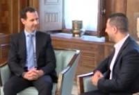 حاشیه نگاری از دیدار حسین مرتضی با بشار اسد