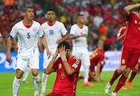 وداع اسپانیا با جام جهانی در چهارشنبه تلخ