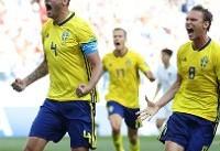 بهترین بازیکن بازی سوئد و کرهجنوبی