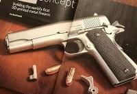 شلیک موفق ۱۰۰۰گلوله با اسلحه چاپی فلزی!(+تصاویر)
