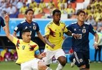 انیمشین جالب دیدار کلمبیا-ژاپن