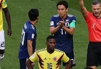جام جهانی/ مدافع کلمبیا؛ اولین اخراجی جام جهانی ۲۰۱۸