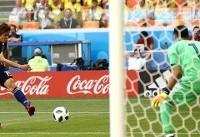 اوساکا بهترین بازیکن دیدار کلمبیا- ژاپن شد