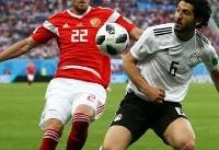 صعود زودهنگام میزبان به یک هشتم نهایی جام جهانی