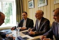 دیدار صالحی با وزیر مشاور خارجه آلمان