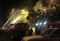 آتش سوزی پاساژ در خیابان امیرکبیر، ۱۱ مصدوم برجای گذاشت