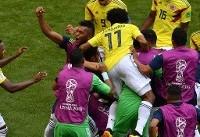 گزارش زنده؛ کلمبیا ۱ - ژاپن ۱