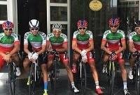 پنجمی گنج خانلو در دومین مرحله تور دوچرخه سواری ترکیه