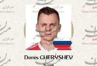 بهترین بازیکن بازی روسیه و مصر