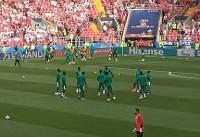 سنگال نیمه اول از لهستان سبقت گرفت