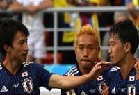 خلاصه بازی کلمبیا ۱ - ژاپن ۲