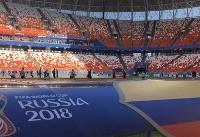 بستری شدن هوادار آمریکایی فوتبال در بیمارستان روانی روسیه