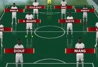 معماری دو تیم لهستان و سنگال در بازی امروز +فیلم