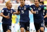 تا دقیقه ۸۱/ کلمبیا یک- ژاپن ۲