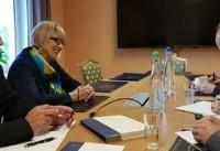 اشمید در دیدار با صالحی: اروپا مصمم به حفظ برجام است