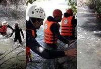 غرق دختر ۹ ساله در رودخانه کرج +عکس