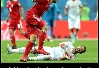 عکس: بازی ایران و اسپانیا | تصاویر دیدنی از یاران کی روش در تیم ملی