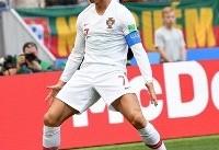 جام جهانی/ گزارش زنده: پرتغال ۱- مراکش ۰
