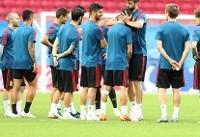 ترکیب تیم ملی اسپانیا برابر ایران اعلام شد/ بازگشت کارواخال