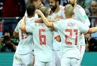 دیهگو کاستا بهترین بازیکن ایران و اسپانیا شد
