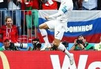 جام جهانی؛ پیروزی پرتغال مقابل مراکش با تک گل رونالدو | مراکش حذف شد