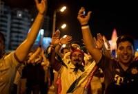 هواداران تیم ملی ایران در خیابان های کازان