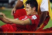دلیل اشک ریختن ستاره تیم ملی فوتبال ایران