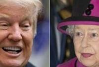 ترامپ با ملکه انگلیس دیدار میکند