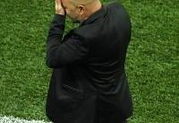 توهین هواداران آرژانتینی به سامپائولی در ورزشگاه نیژنی