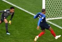 صعود فرانسه با حذف پرو از جام جهانی