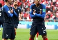 صعود فرانسه به مرحله یک هشتم نهایی/حذف زودهنگام پرو