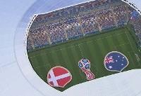 گزارش زنده؛ دانمارک ۱ - استرالیا ۱