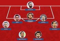 ۳ بازیکن ایرانی در تیم منتخب روز هفتم + عکس